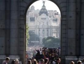 El desfile del Orgullo, al Paseo del Prado