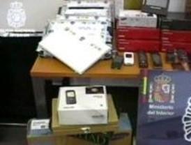Trece detenidos en Alcalá por fraude de tarjetas de crédito vía Internet