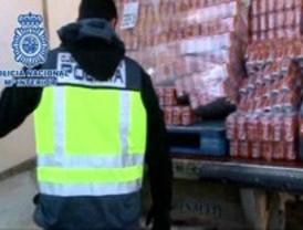 Desarticulada una red que robaba bebidas alcohólicas y productos alimenticios