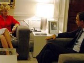 Zapatero recibe a Aguirre para acordar la financiación autonómica