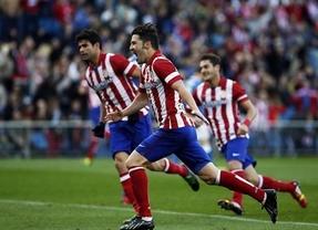 El Atlético sigue al acecho del Barcelona