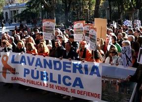 Los trabajadores de lavandería hospitalaria han desconvocado la huelga indefinida.