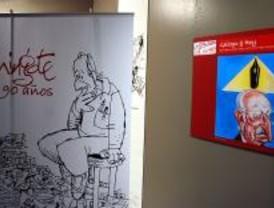 El Museo de la Ciudad alberga una exposición dedicada a Mingote