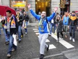 Los seguidores del APOEL 'invaden' Madrid