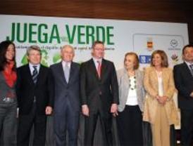 El fútbol madrileño 'juega en verde'