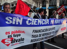 La ciencia española denuncia que el apoyo a la I+D volverá a caer en 2015