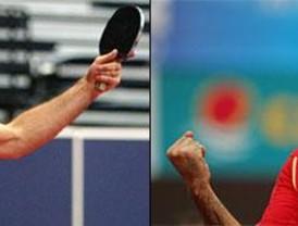 Alfredo Carneros acaba con el gafe histórico de España en tenis de mesa