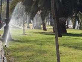 Fuenlabrada regará todos sus jardines con agua reciclada
