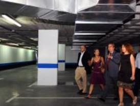 Un nuevo aparcamiento en Alcorcón ofrece 433 plazas subterráneas