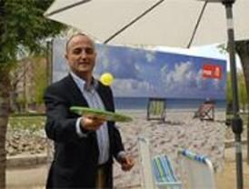 Sebastián promete tres playas en el Manzanares con internet y restaurantes