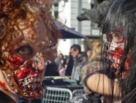 Los muertos vivientes marchan por la capital