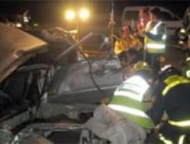 Muere un conductor tras perder el control de su coche en la M-40