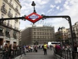 'Performance' solidaria en la Puerta del Sol