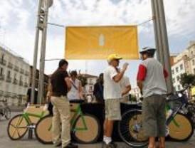 Madrid es esceranio de la jornada '24 horas en bicicleta'