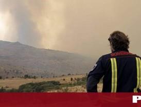 Controlado el incendio de Robledo y Valdemaqueda