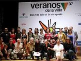 Los 'Veranos de la Villa' ofrecerán 120 espectáculos de música, teatro, cine y danza