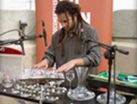 Concierto de percusión en Alcorcón para explorar las posibilidades del vidrio