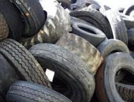 Recuperación, reciclaje y valorización de los neumáticos usados