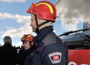 Madrid convoca 20 plazas de bombero especialista