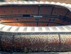 El Mundial comenzó sin Nelson Mandela en el 'Soccer City'