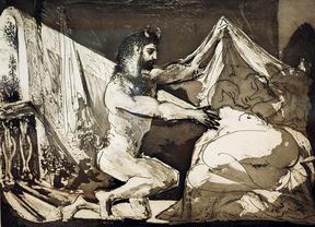 El taller más íntimo de Picasso, en la Fundación Mapfre