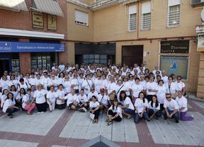 180 personas participan en el campamento de mayores en Getafe