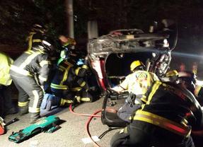 Herido grave un joven en un accidente de tráfico en la A-4