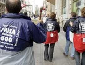 Miembros políticos y sindicales apoyan a los empleados de Dédalo en Pinto