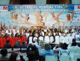 Gemma Mengual presenta el III Trofeo Mundial de la Fina