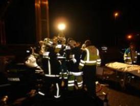 Dos muertos y tres heridos en un accidente en el túnel de Guadarrama