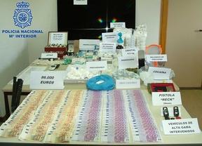 Desarticulan un canal de distribución de drogas de síntesis en Mejorada