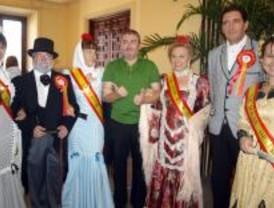 Danza Invisible, Raimundo Amador, Melocos y Conchita, en las Fiestas de la Paloma