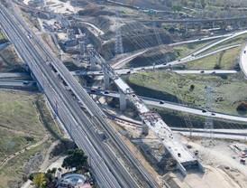 El tren se abre camino en Torrejón de Velasco