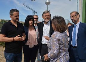 Visita del PSOE a Latina