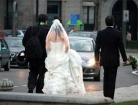 Las bodas caen en picado por la crisis