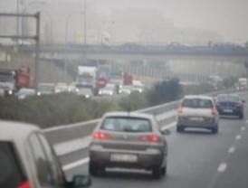 El asfaltado de la M-607 causa retenciones de más de siete kilómetros