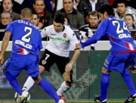 El Getafe dominó sin resultado ante el Valencia