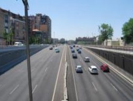 1,2 millones de coches en el puente en las carreteras de Madrid