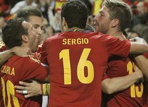 La selección española se enfrenta a Bielorrusia