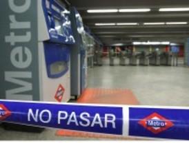 700.000 euros de pérdidas en los locales del Metro por los paros