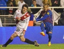 El Barça golea en Vallecas