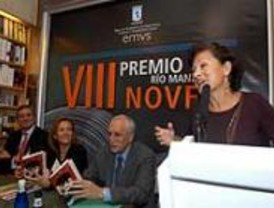 Mercedes Chozas gana el VIII Premio Río Manzanares de Novela, organizado por la EMVS
