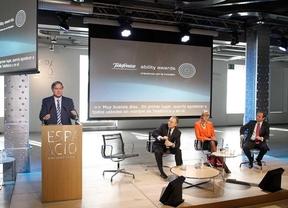 Telefónica premia la integración de discapacitados en las empresas