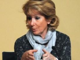 Aguirre promete que no se implantará el copago sanitario en Madrid mientras sea presidenta