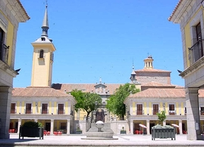 Plaza Mayor de Brunete.