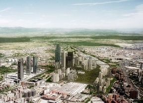 Distrito Castellana Norte arrancará a finales de este año y tendrá un gran parque, viviendas y una 'city'