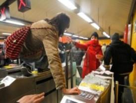 En libertad los detenidos por el boicot en Metro