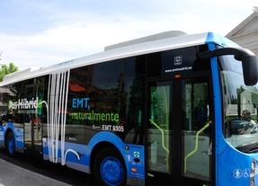 La EMT aumenta el servicio de autobuses a Valdebebas