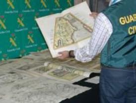 Detenido por el robo de 67 mapas antiguos