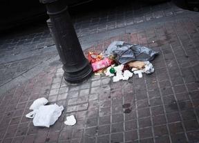 El PSOE cree que Centro está más sucio con el nuevo contrato de limpieza